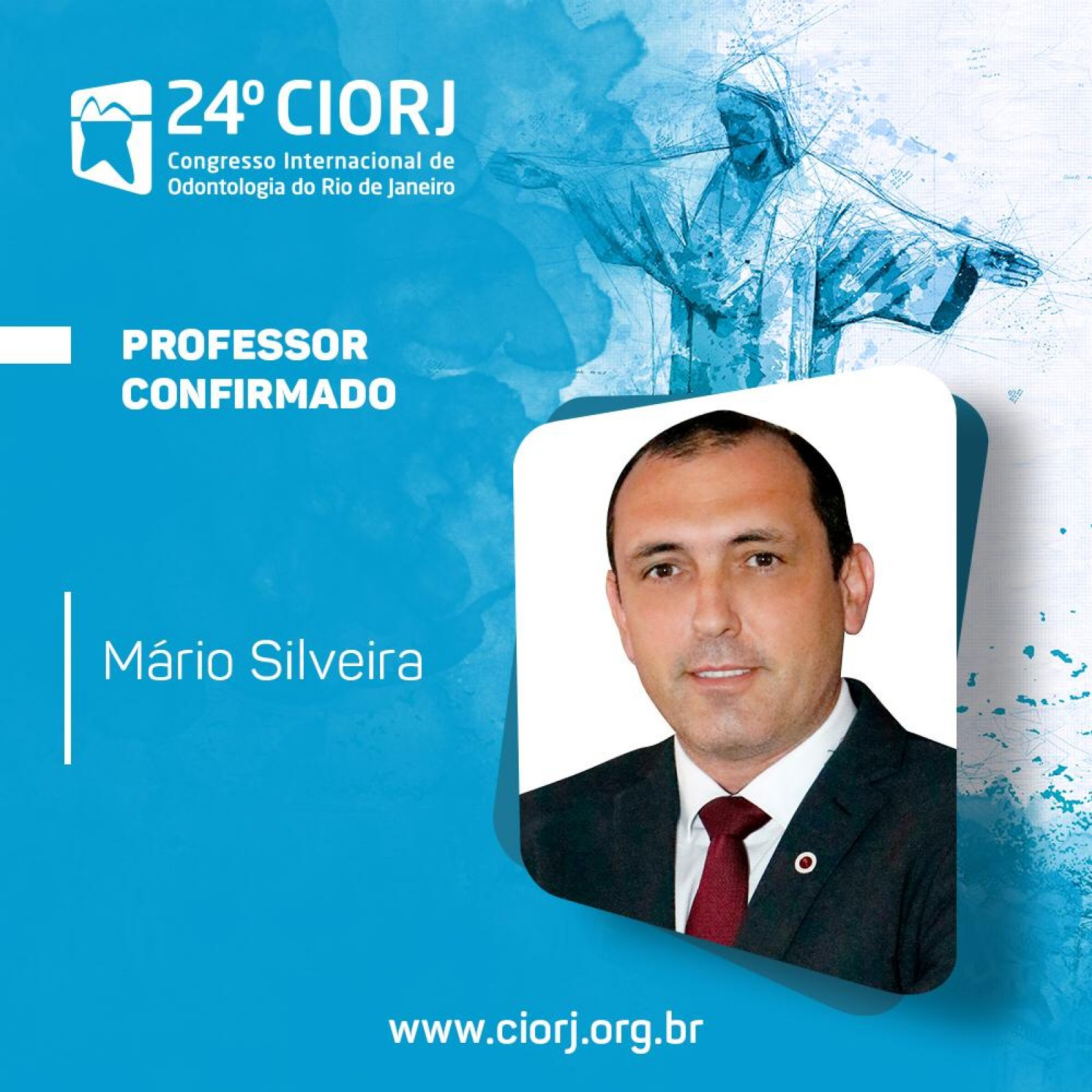 Professor Confirmado no CIORJ/2019