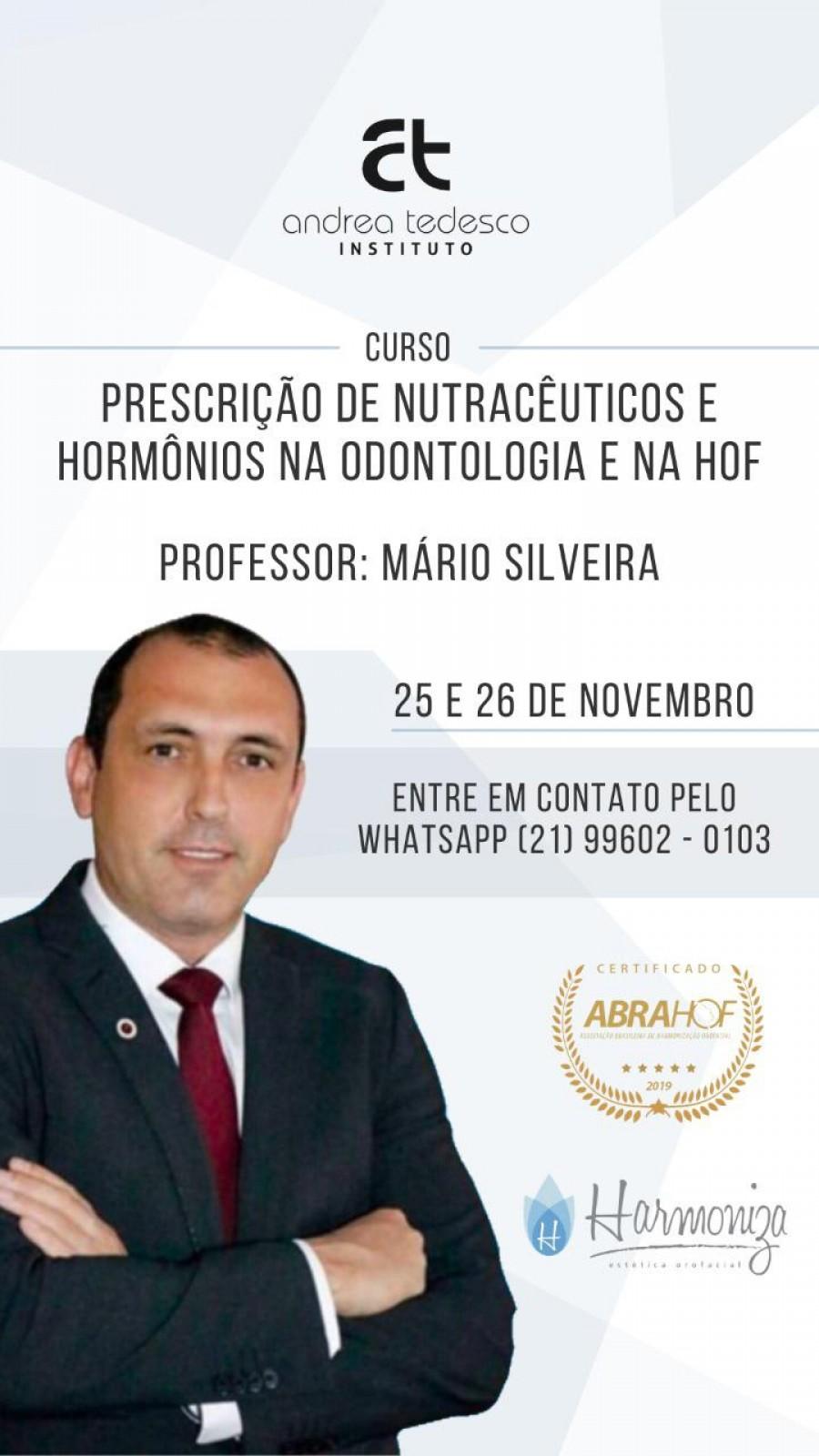 Prescrição de Nutracêuticos e Hormônios Aplicados na Odontologia e na HOF