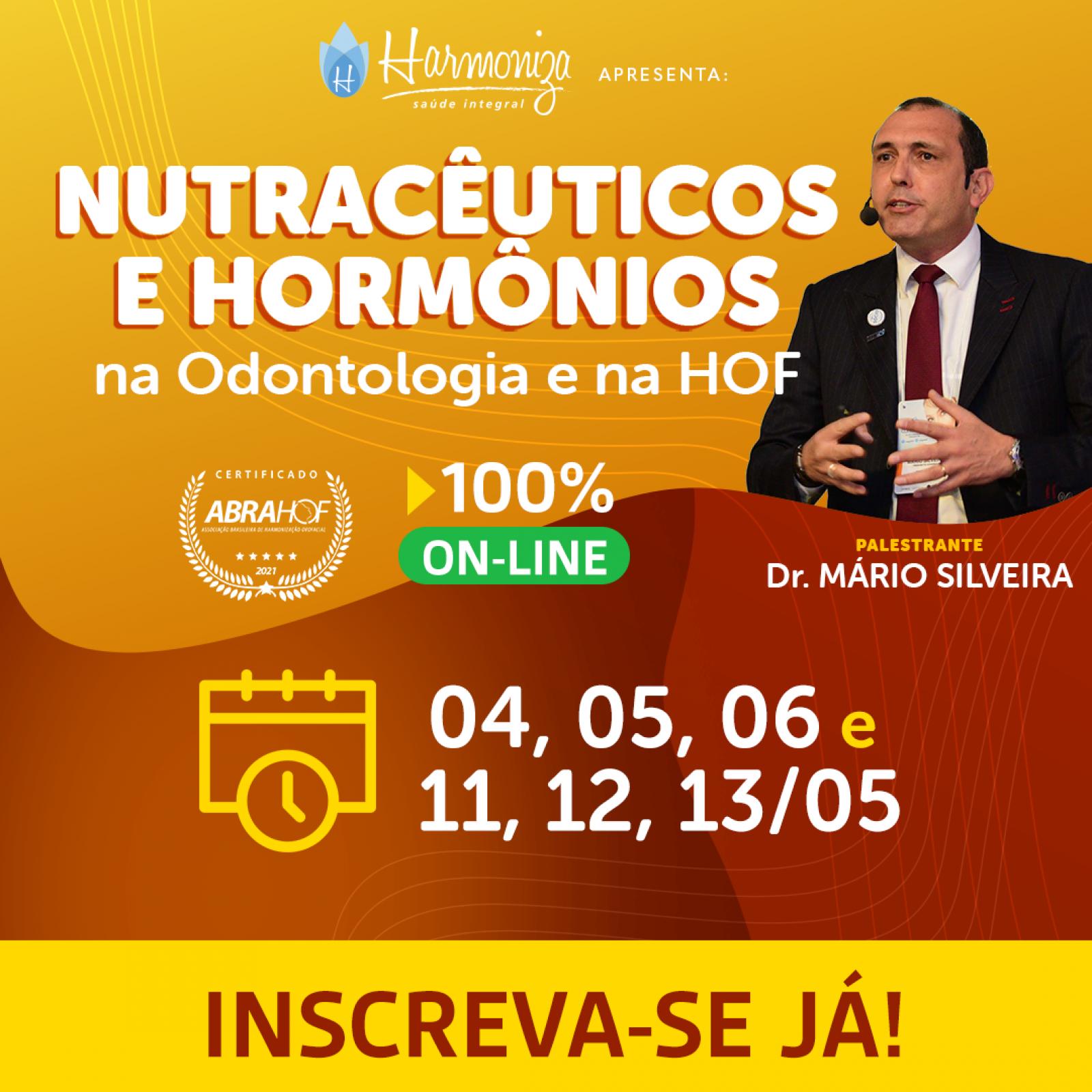 Curso Online Hormônios na Odontologia e na HOF - Turma 6